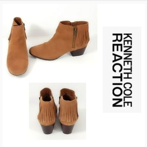 Kenneth Cole Tassel Booties Size 7.5M